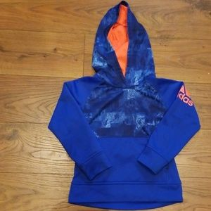 Boys Adidas Hoodie Size 4